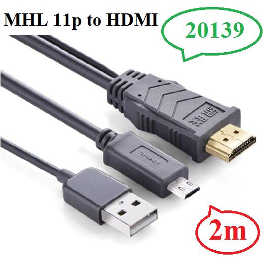 Cáp MHL to HDMI cao cấp chính hãng Ugreen 20139