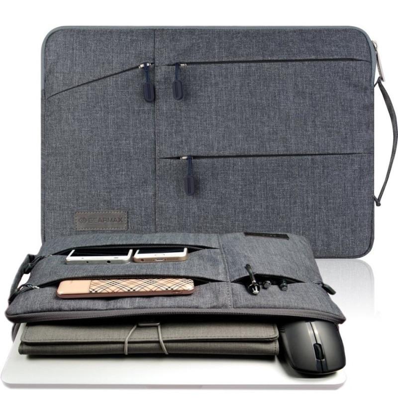 Túi chống sốc laptop 15.6 inch nhiều ngăn có quai cầm