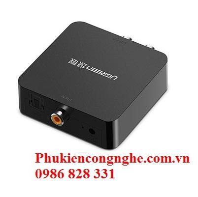 Bộ chuyển đổi Quang + Coaxial to RCA chính hãng Ugreen 30523 cao cấp