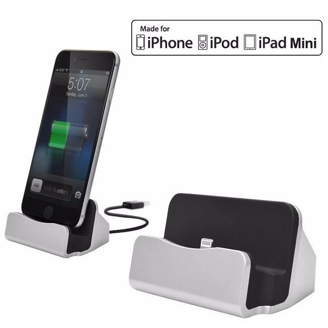 Dock sạc kiêm giá đỡ cho Điện thoại Iphone