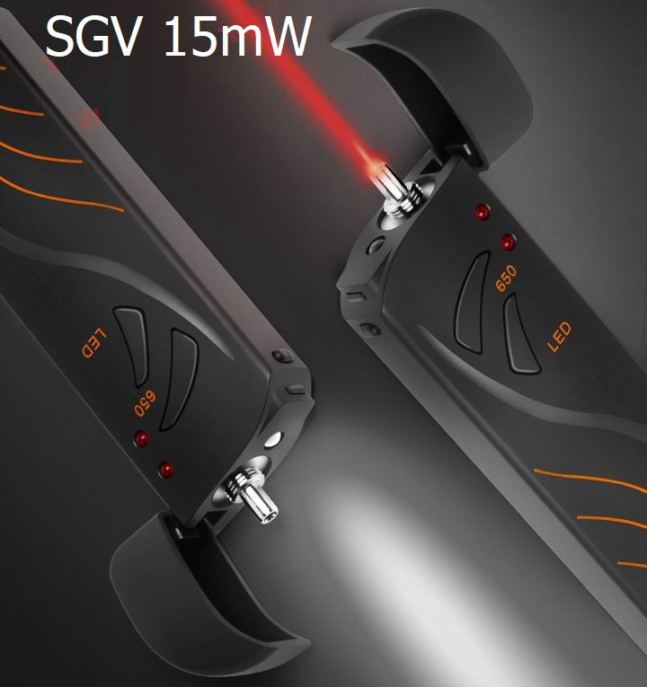 Bút soi cáp quang 15Km SGV15 pin sạc