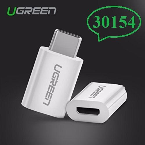 Đầu chuyển USB Type-C sang Micro USB Ugreen 30154