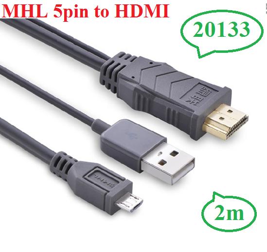 Cáp MHL to HDMI cao cấp chính hãng Ugreen 20133