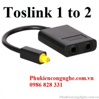 Toslink 1 to 2 chia cổng Quang Audio 1 ra 2