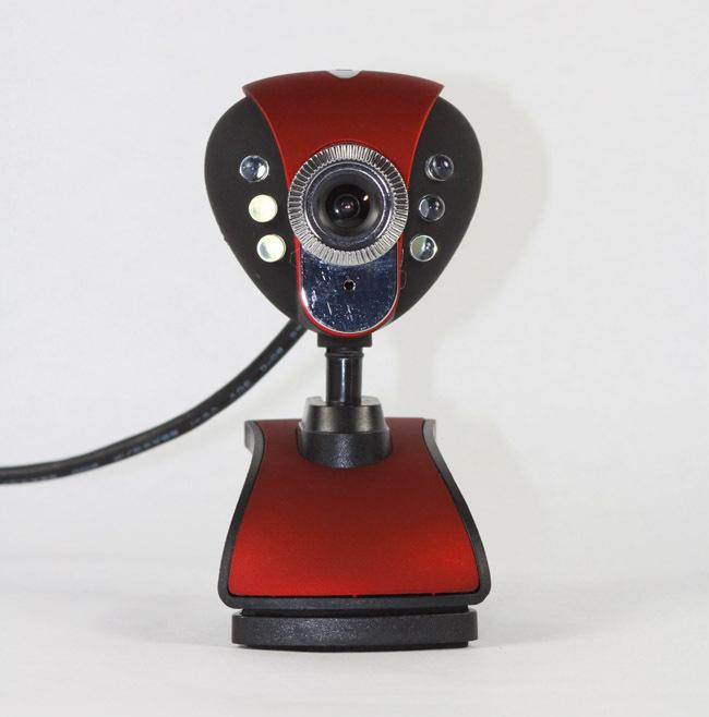 Webcam kẹp màn hình Máy tính có Mic