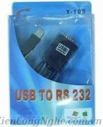 Cáp USB to RS232 Y-105