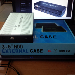HDD Box External 3.5 inch Sata 2.0